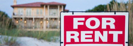 Image of for rent sign
