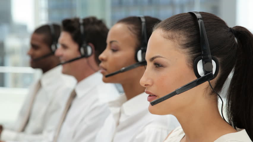 Image of multiple customer service reps